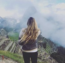 Taking in the views at Machu Picchu. (298372006)