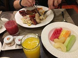Morning Buffet Breakfast - Our selection
