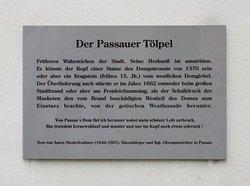 Der Passauer Tölpel