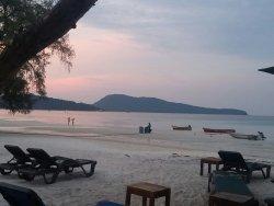 Witte stranden eiland