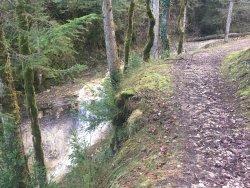 Les cascades   du Landeyron