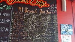 The current menu