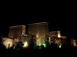 Sound and Light Show - Philae