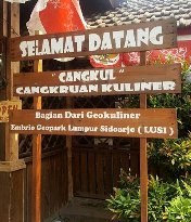 Pujasera Cangkul (cangkruan kuliner)