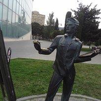 Statue of an Artist