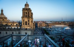 Vista a la Catedral Metropolitana desde nuestra Terraza