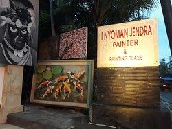 I Nyoman Jendra Painter & Painting Class