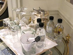 St Regis New York City - Room 722 - Glassware & Water