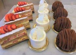 専属パティシエの作る四季折々のケーキ
