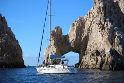 While visiting the arches in Cabo San Lucas take a boat fishing.  (299471024)