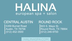 Halina European Day Spa & Salon