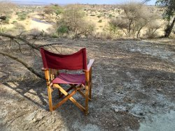 VIEW FROM MY TENT TARANGIRE SAFARI CAMP TANZANIA