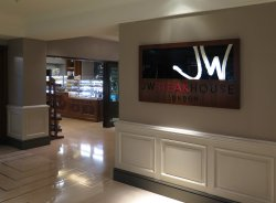 JW Steakhouse - Mayfair - Signage in Lobby Entrance