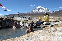 Parque nacional Sajama (aguas termales)