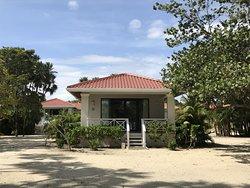 Everything felt brand new and fresh at this luxurious beachfront resort