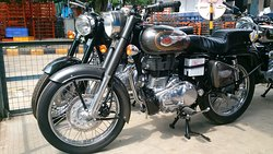 Royal Enfield Motorcycle Factory Tour
