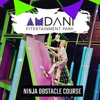 ‪Amdani Fitertainment Park - Ninja Obstacle Course‬