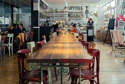 Upcycle Milano bike cafe