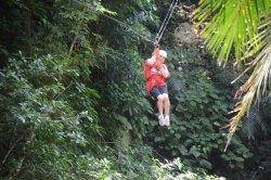 Jaguar Paw Cave Tubing and Jungle Zipline