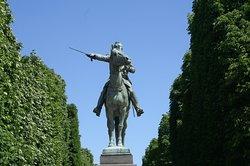 Statue Equestre De Simon Bolivar