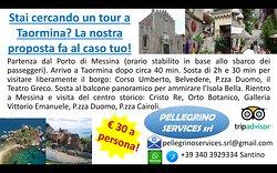 La nostra migliore offerta per il tuo tour a Taormina... your best offer for your tour to Taormi