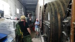 Guide tour to a wine producer.