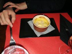 Feuilletée canard fruits rouges Cassolette gnocchi poisson Merlan aux 5 épices Trio de mousses 2