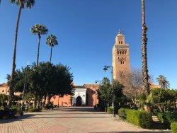 Mezquita y Minarete Kutubía
