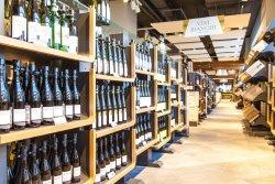 Eataly - огромный выбор вин