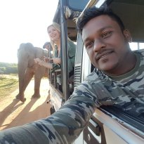 Bundala Jeep Safari chaminda