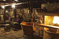 Şömineli, Bungalov odaları tercih edin!