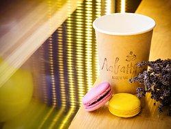 Кофе, лаванда и десерты