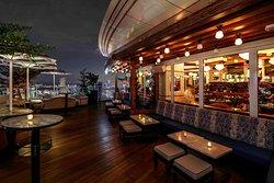 Outside of LAVO Italian Restaurant & Rooftop Bar