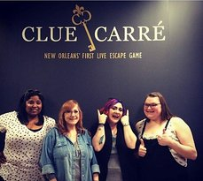 ‪Clue Carre - New Orleans' First Live Escape Game‬