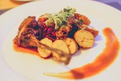 The Olive Steak House Duck Confit's dish 2