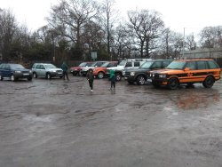 A gathering of Land Rover's mostly L.R Former Owned by Land Rover as Press, Test or Other Vehicl