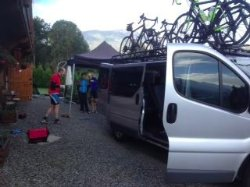 Geneva to Nice transport for cycling groups