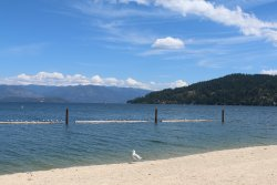 Sandpoint City Beach