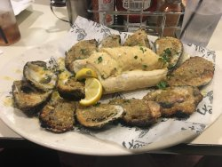 Delicious! Chargrilled oysters