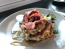 Corn Fritters - The Batch Cafe Invercargill
