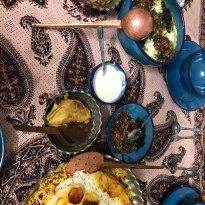 Maryam Persian Cooking class