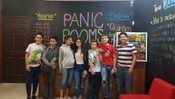 panic rooms muy divertido!!