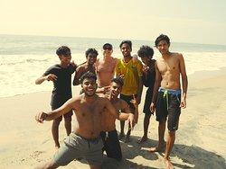 Freundliche indische Jugendliche