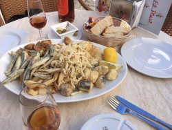 Fried Fish and Wine!
