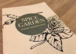 Menu Spice Garden
