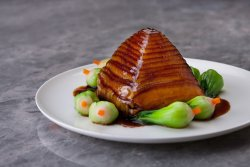 Dongpo's Pork Pagoda with Dried Shanghainese White Cabbage