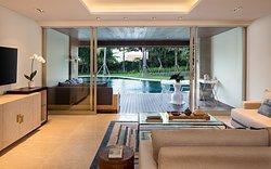 Two-Bedroom Lagoon Pool Residences