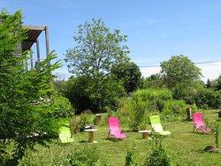 L'espace détente au jardin