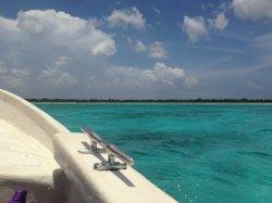 En excursion bateau