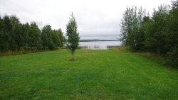 vista del lago, desde la vivienda